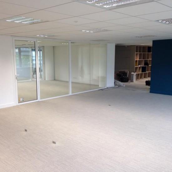 Réaménagent d'un plateau de bureaux