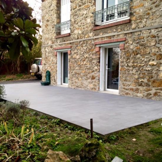 Création d'une terrasse extérieure