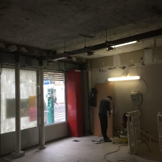 Rénovation d'un local professionnel