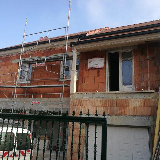 Surélévation d'un maison individuelle