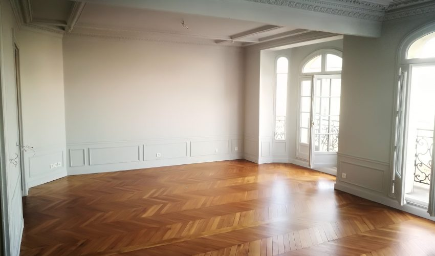 Rénovation d'un appartement Haussmannien
