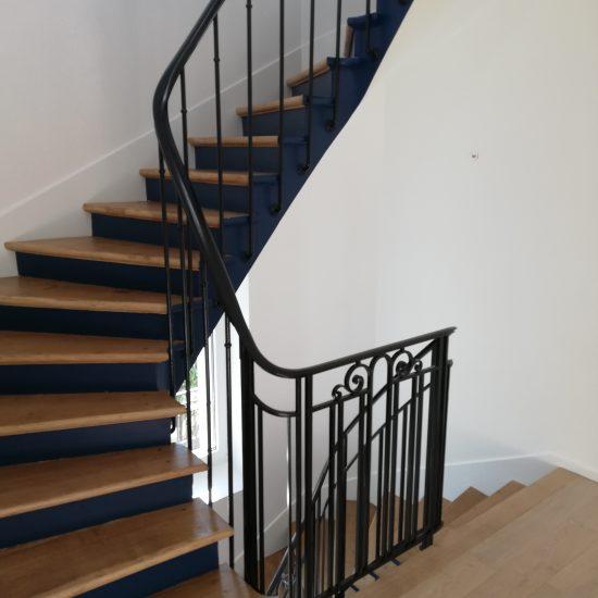 Rénovation d'un escalier intérieur RDC/R+2