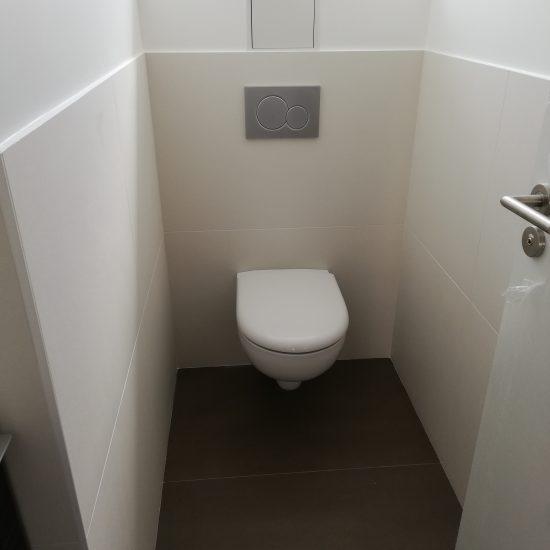 Création d'espaces WCs