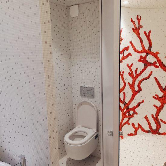 Création d'un espace bain/douche