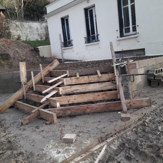 Extension et Surélévation d'une maison individuelle à Rueil-Malmaison