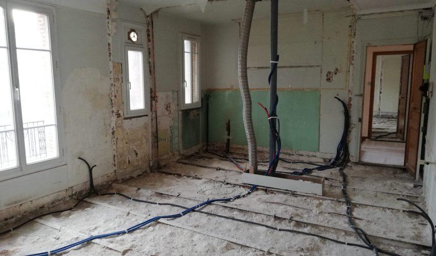 Rénovation de 6 Logements T2 à Courbevoie